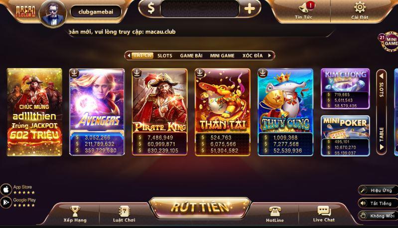 Kinh nghiem cach choi game bai Macao Club