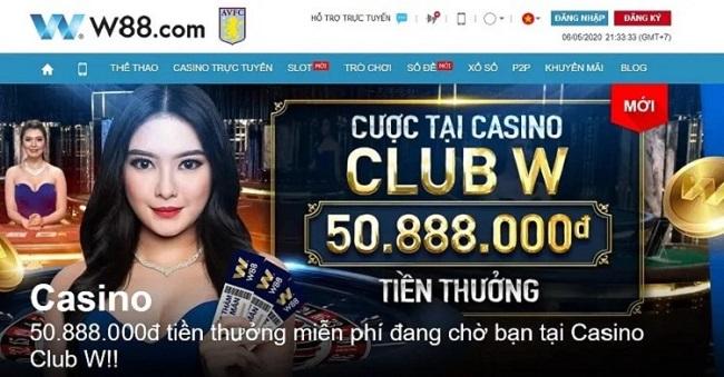 nha cai w88 casino
